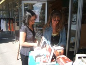 Meg Tilly and kc dyer discuss books.