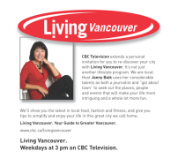 Interview on CBC's Living Vancouver
