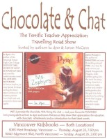 Teacher Appreciation Signing at Chapters
