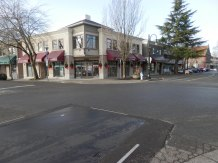 Street view of Ladner Village.