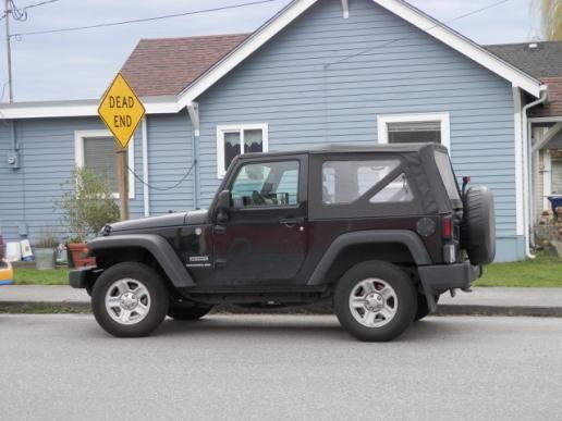 My Jeep, a 2014 Wrangler.