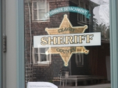 The Sheriff's office at City Hall.