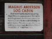 Log cabin history.
