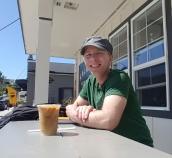Iced cold brew coffee at Kalakala Mercantile Co.