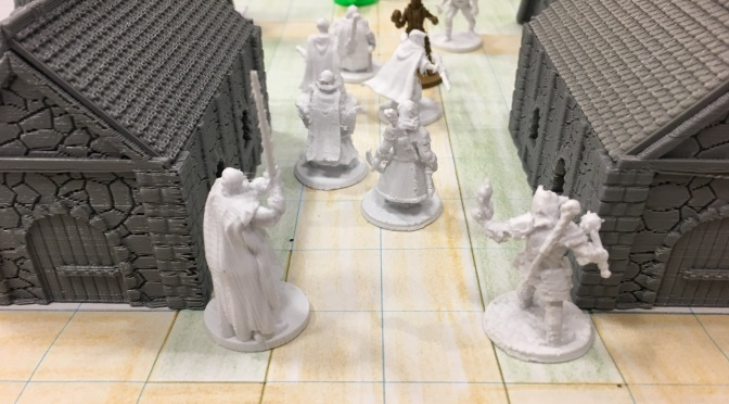 Dungeons and Dragons 3D Printed