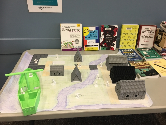 Workshops at the surrey public library