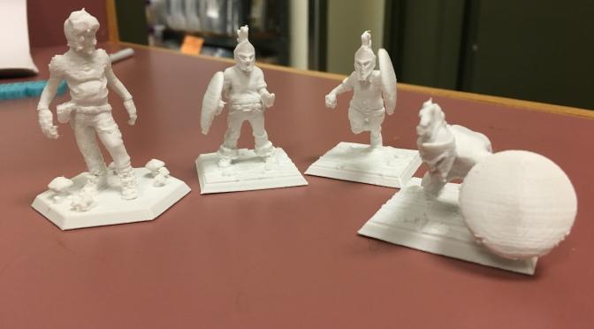 3D Printing and Novel Writing